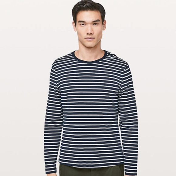 lululemon athletica Other - Lululemon 5 Year Basic Striped Long Sleeve Tee